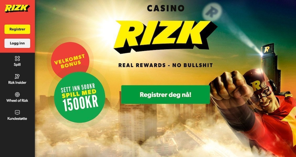 Rizk Casino - Beste Online Casino Spill I Norge!