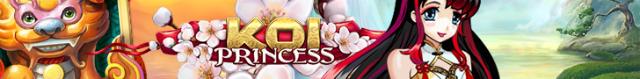 Koi princess banner smal horisont