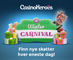 Vinterkarnelval Casino Heroes