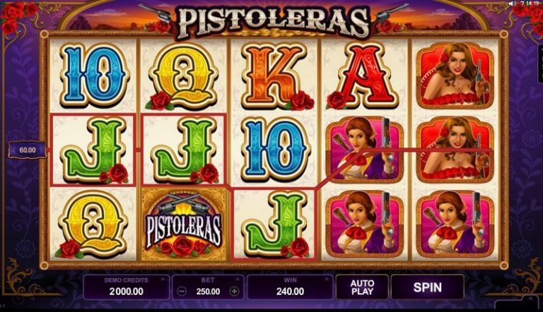 Pistoleras casinotopplisten