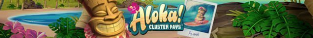 aloha cluster pays spilleautomat