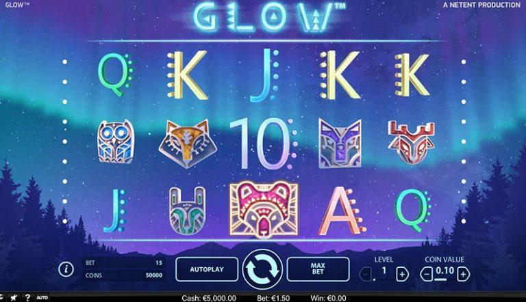 Glow casinotopplisten