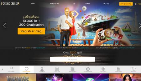 casino cruise omtale