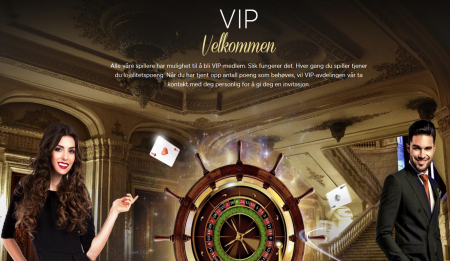 vip program hos casino cruise