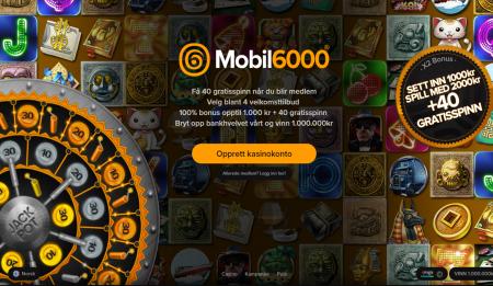mobil 6000 bonuser og tilbud