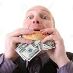 Anekdote spiser penger