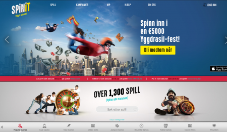 spinit casino omtale