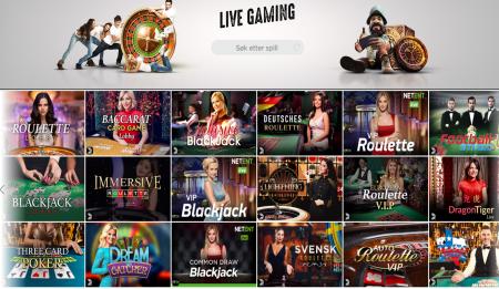 spinit casino har mange gode spill