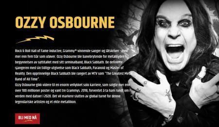 ozzy osbourne er ambassadør hos metal casino