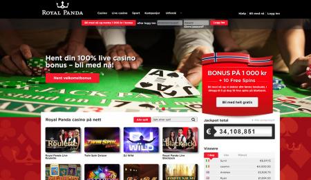 royal panda casino omtale