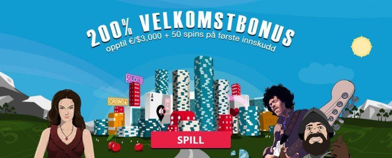 spinland casino norge bonus