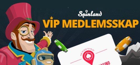 spinland casino norge vip