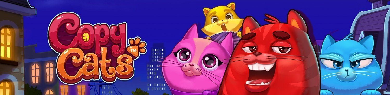 Cats – Spill gratis spilleautomaten Cats fra IGT