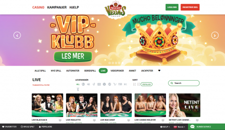 vip program hos muchovegas casino