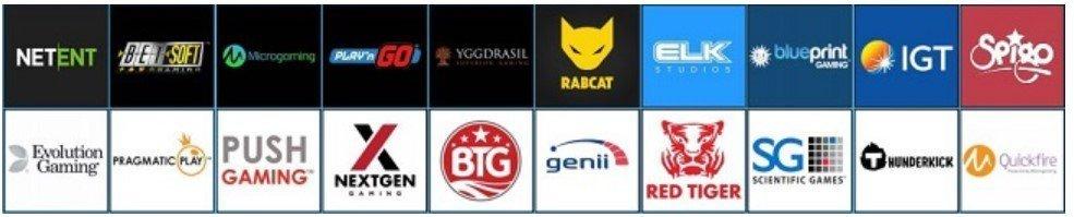 Spillutvalg hos Highroller Casino