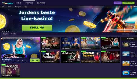 les vår omtale av cashiopeia casino