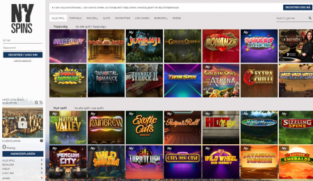 du finner mange gode spill hos nyspins casino
