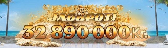 jackpot hos vera og john casino vinner