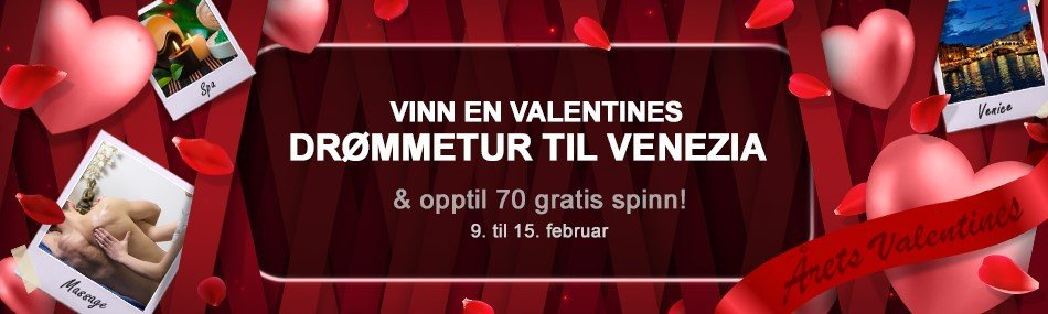 videoslots valentines day