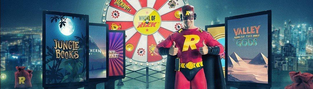 1000 freespins hos Rizk Casino