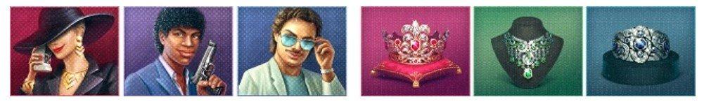 symboler i Hotline av NetEnt