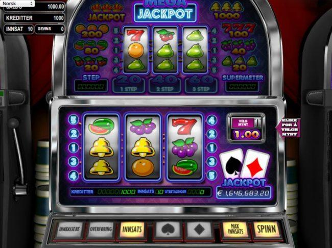 spill klassiske spilleautomater og moderne videoautomater hos oss