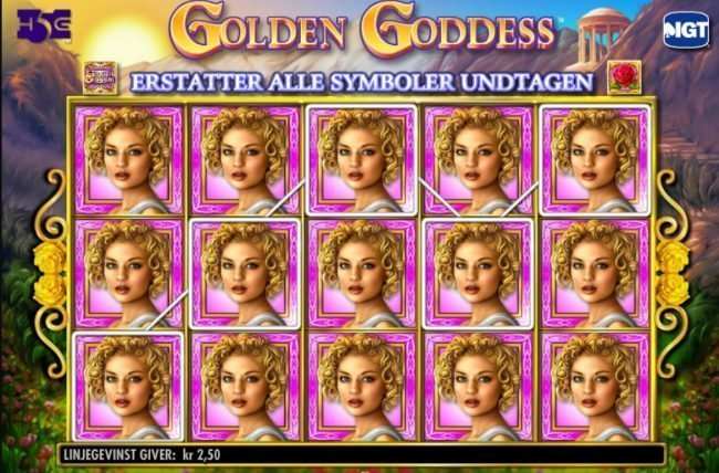Golden Goddess Slot IGT
