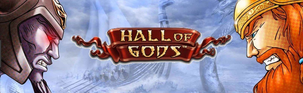 Hall of Gods NetEnt Spilleautomat Jackpot