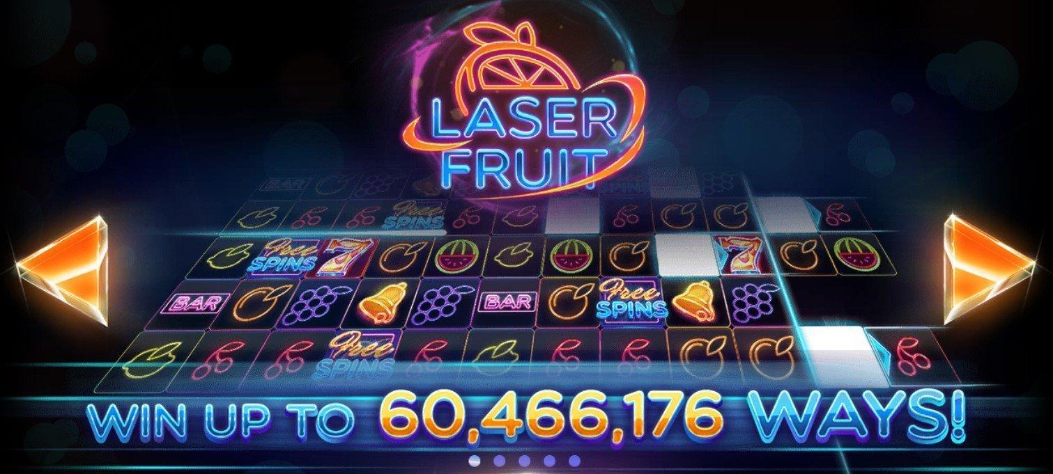 Laser Fruit Slot Red Tiger