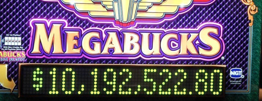 Man wins huge Megabucks Jackpot!