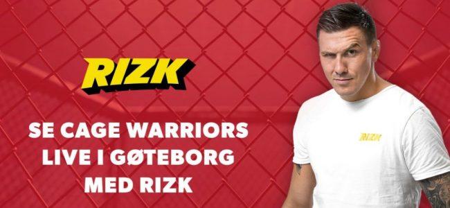 Rizk Casino - Cage Warriors Campaign
