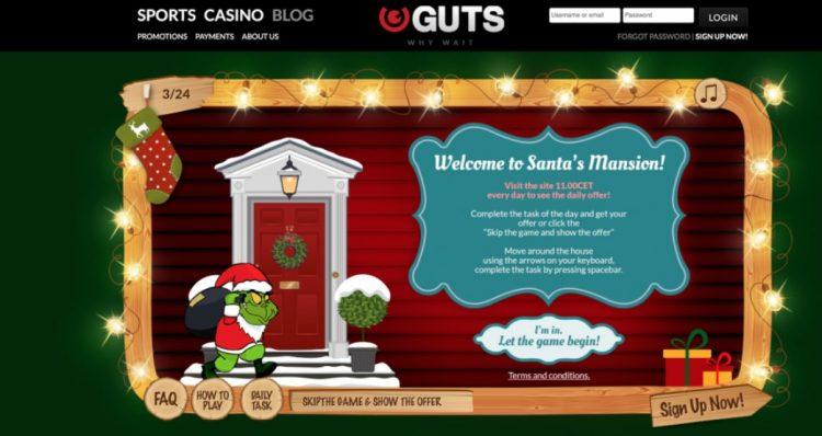 julekalender guts casino