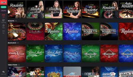 spill automater og live casino hos letsbet casino