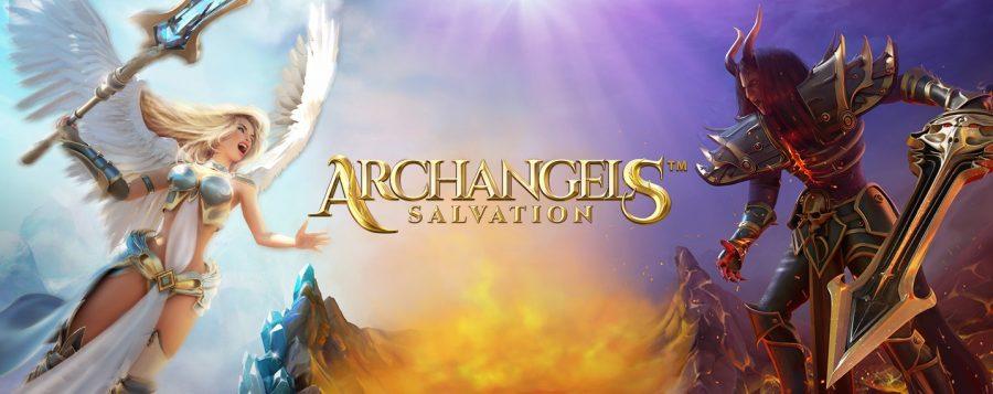 Archangels Salvation fra NetEnt