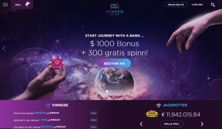 genesis casino omtale