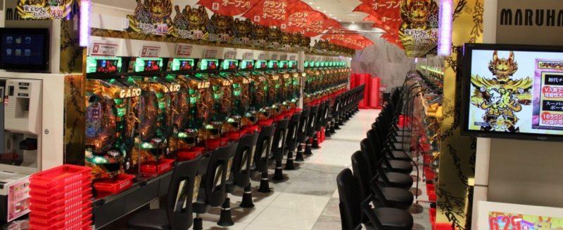 Pachinko maskiner i Japan