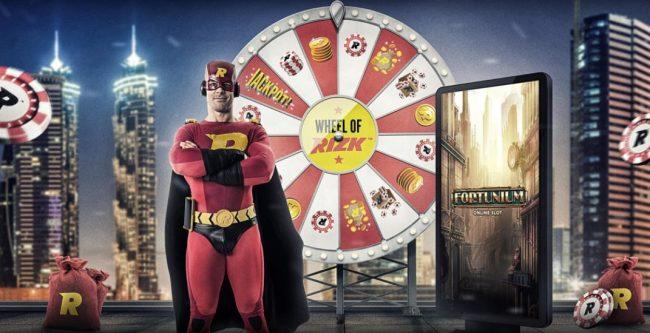 Rizk Casino med Fortunium kampanje