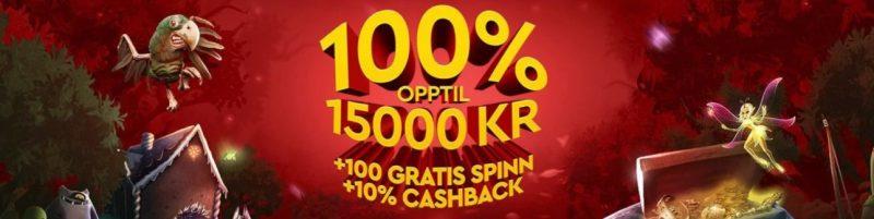 Få god casino bonus hos Slotsons Casino