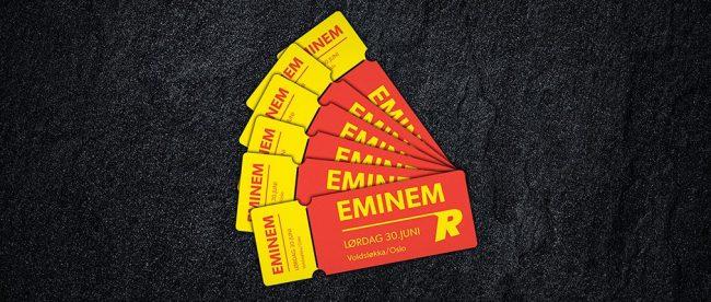 Vinn billetter til Eminem konsert med Rizk Casino