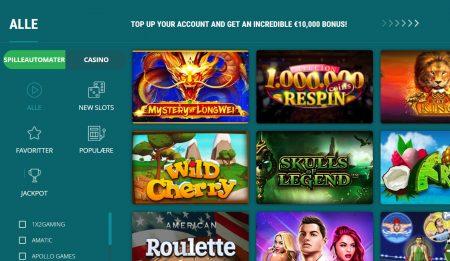 22Bet Casino Skjermbilde 2