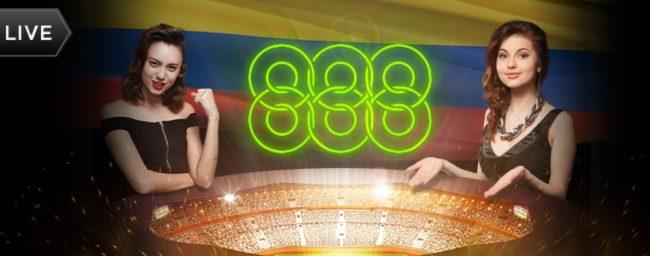 888 Casino Roulette og bordspill