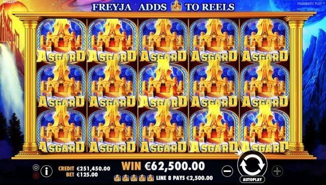 Big win Asgard spilleautomat