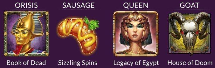 Kampanjesymboler i Guts Casino Kampanje