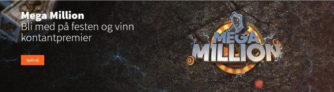 Mega Millions kampanje hos Betsson Casino