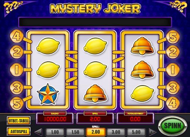 Mystery Joker spilleautomat play n go