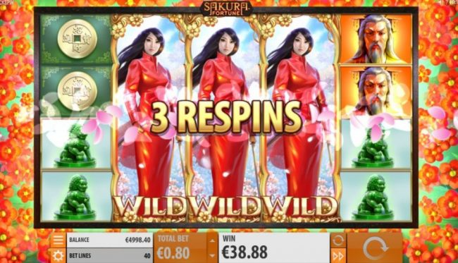 Sakura Fortune Quickspin spilleautomat 2