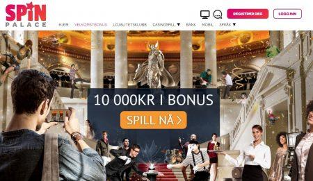 Spin Palace casino bonuser