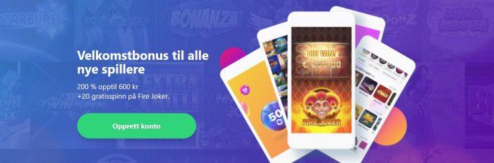 bonus hos dreamz casino
