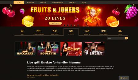 bonus og kampanjer hos play fortuna casino