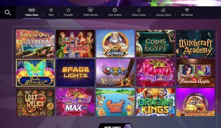 sjekk ut spillutvalget hos untold casino